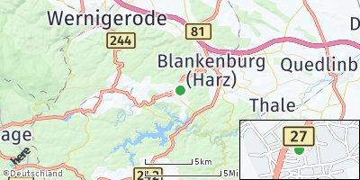 Google Map of Hüttenrode