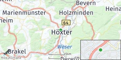 Google Map of Höxter