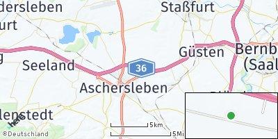 Google Map of Aschersleben