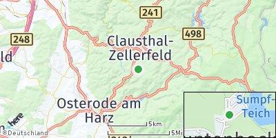 Google Map of Buntenbock