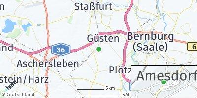 Google Map of Amesdorf