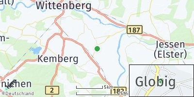 Google Map of Globig-Bleddin