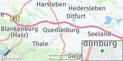 Google Map of Quedlinburg