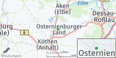 Google Map of Osternienburg