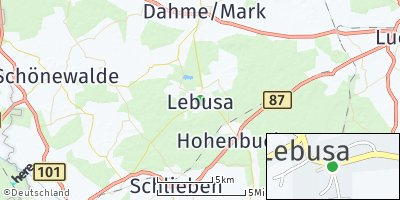 Google Map of Lebusa