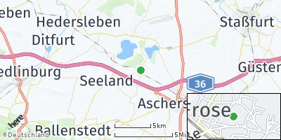 Google Map of Frose