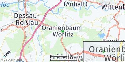 Google Map of Oranienbaum