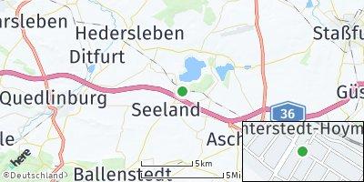 Google Map of Nachterstedt