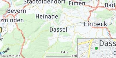 Google Map of Dassel
