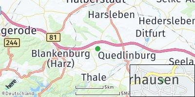 Google Map of Westerhausen