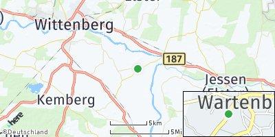 Google Map of Wartenburg