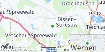 Google Map of Werben