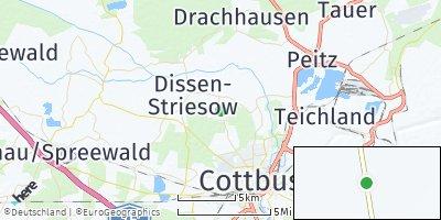 Google Map of Dissen-Striesow
