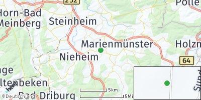 Google Map of Marienmünster