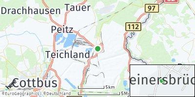 Google Map of Heinersbrück