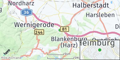 Google Map of Heimburg