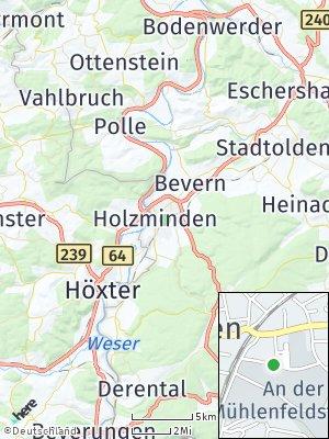 Here Map of Holzminden