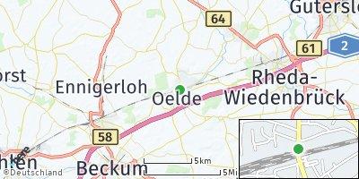 Google Map of Oelde