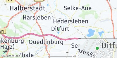 Google Map of Ditfurt
