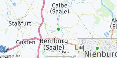 Google Map of Nienburg