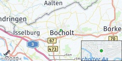 Google Map of Bocholt