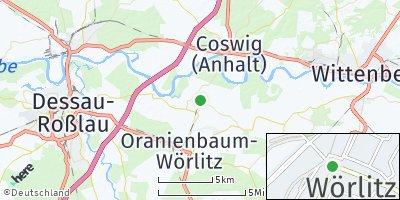 Google Map of Wörlitz