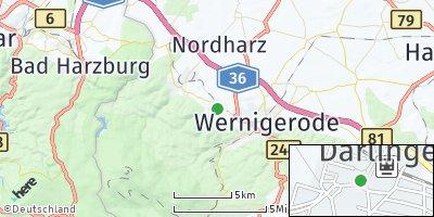 Google Map of Darlingerode