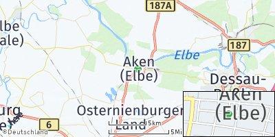 Google Map of Aken