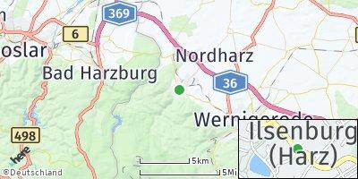 Google Map of Ilsenburg