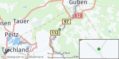 Google Map of Schenkendöbern