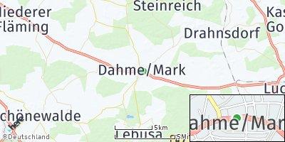 Google Map of Dahme / Mark