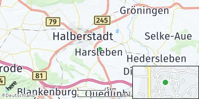 Google Map of Harsleben