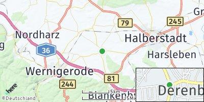 Google Map of Derenburg