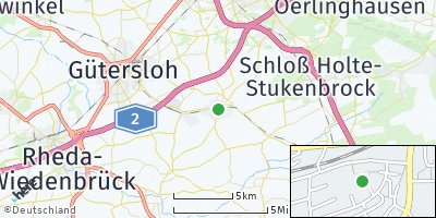 Google Map of Verl