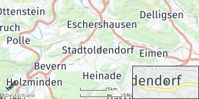 Google Map of Stadtoldendorf
