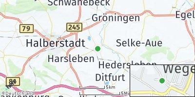 Google Map of Wegeleben