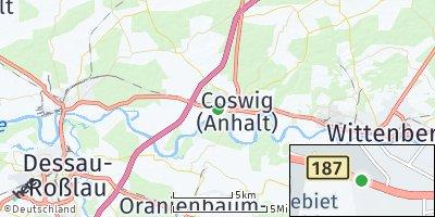 Google Map of Coswig