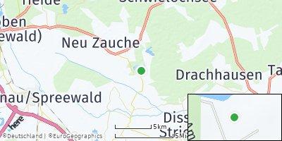 Google Map of Byhleguhre-Byhlen