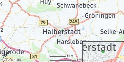 Google Map of Halberstadt