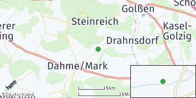 Google Map of Dahmetal
