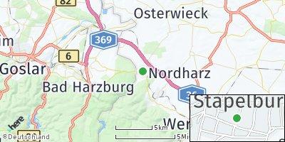 Google Map of Stapelburg