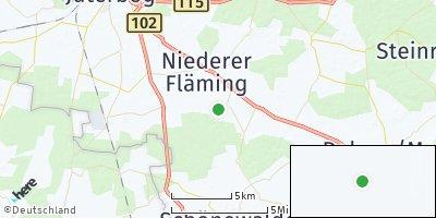 Google Map of Niederer Fläming