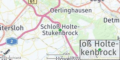 Google Map of Schloß Holte-Stukenbrock