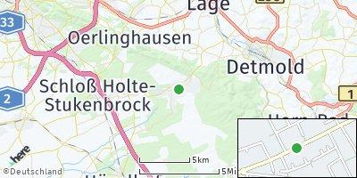 Google Map of Augustdorf