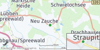 Google Map of Straupitz
