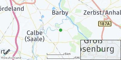 Google Map of Groß Rosenburg