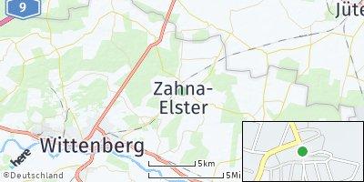 Google Map of Zahna