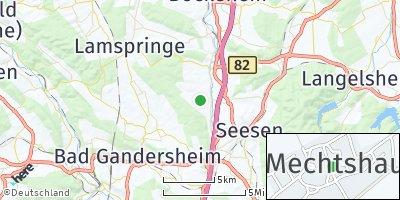 Google Map of Mechtshausen