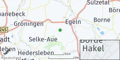 Google Map of Hakeborn