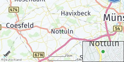 Google Map of Nottuln
